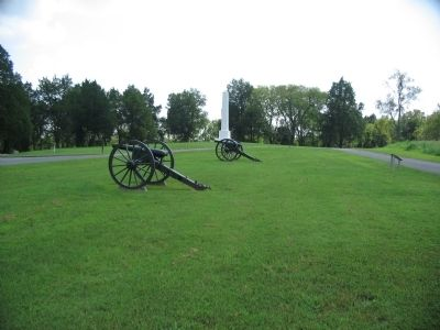 Artillery at Stop Six image. Click for full size.