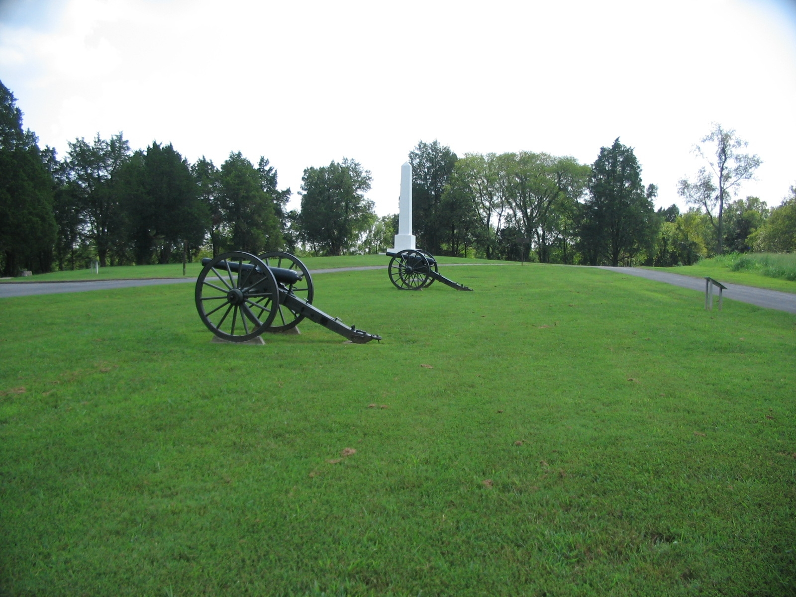 Artillery at Stop Six