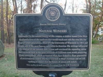 Natural Wonders Marker image. Click for full size.