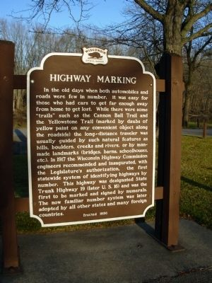 Highway Marking Marker image. Click for full size.
