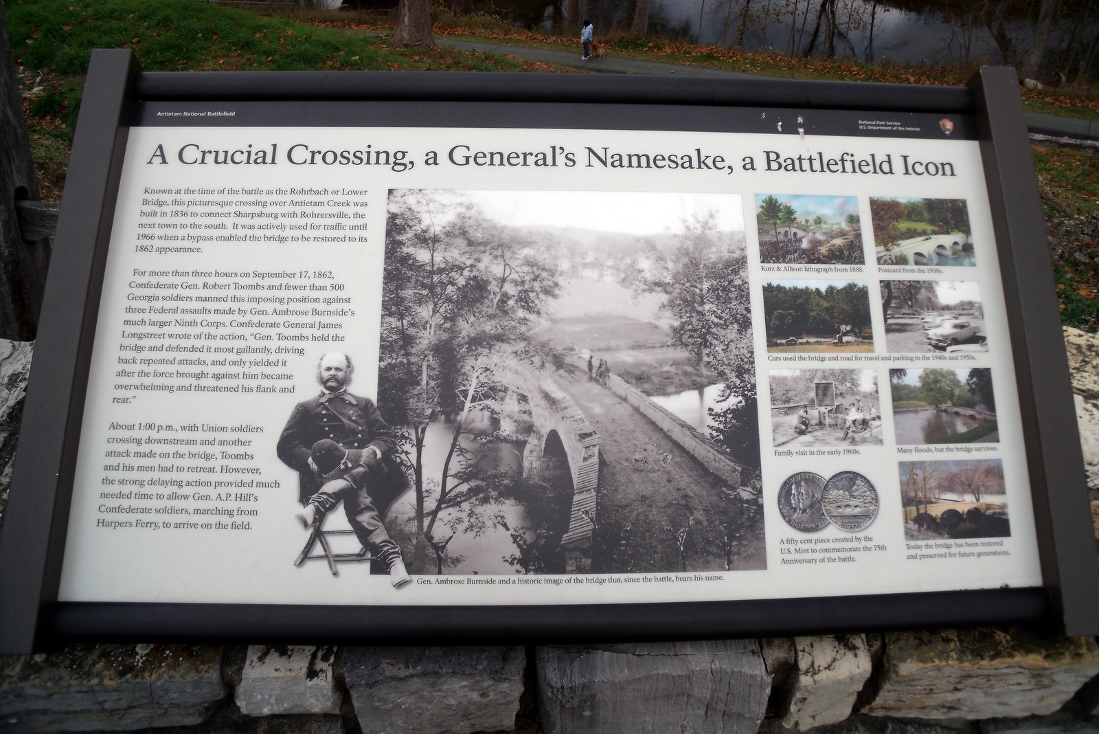 A Crucial Crossing, a General's Namesake, a Battlefield Icon Marker