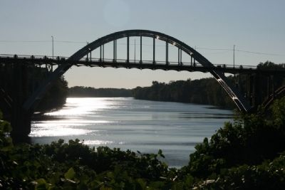 The Edmund Pettus Bridge Spanning The Alabama River. image. Click for full size.