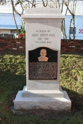 In Honor of James Joseph Reeb Marker image. Click for full size.