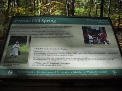 Perrine Hill Spring Marker image. Click for full size.
