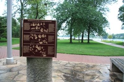 The Battle of Lake Erie Marker image. Click for full size.