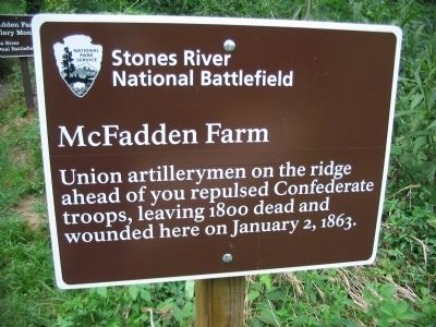 McFadden Farm Marker image. Click for full size.