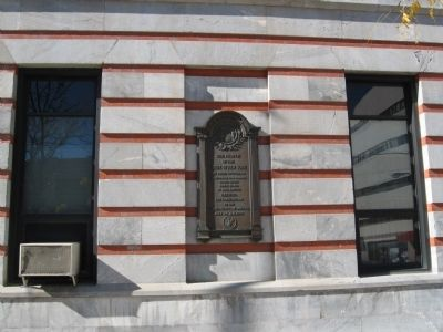Constitution Ratification Site Marker image. Click for full size.