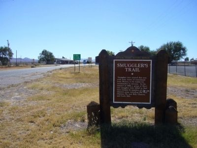 Smugglers' Trail Marker image, Touch for more information
