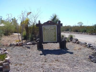 Pancho Villa State Park Marker image. Click for full size.