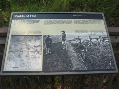 Fields of Fire Marker image. Click for full size.