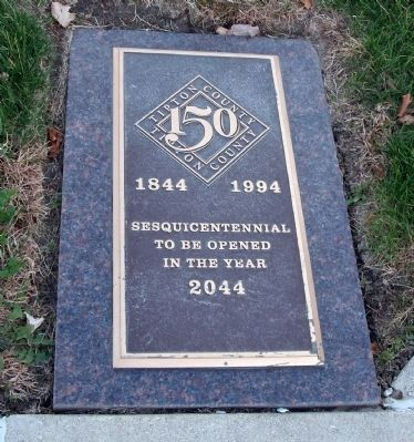 "Plaque - - ""150 - Tipton County"" image. Click for full size."