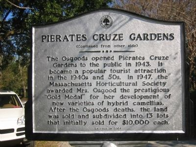 Pierates Cruze Gardens image. Click for full size.
