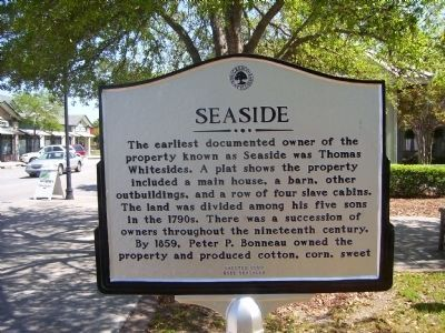 Seaside Marker - Side A image. Click for full size.