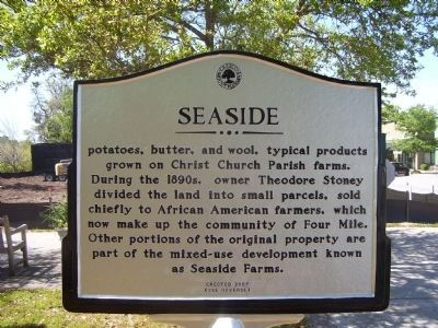 Seaside Marker - Side B image. Click for full size.