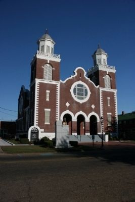I Had A Dream Marker In Front Of The Brown Chapel AME Church image, Touch for more information