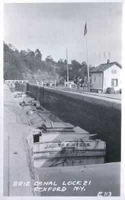 Old Erie Canal Lock 21 - Rexford, N.Y. image. Click for full size.