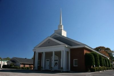 First Baptist Church Of Springville image. Click for full size.