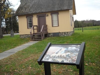 Marker at Martin Van Buren National Historic Site image. Click for full size.