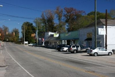 Main Street Downtown Pinson, Alabama image. Click for full size.
