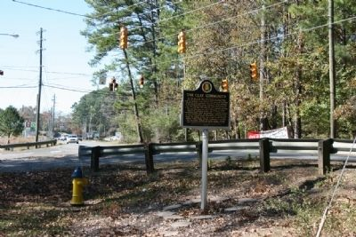 The Clay Community Marker Looking South image. Click for full size.
