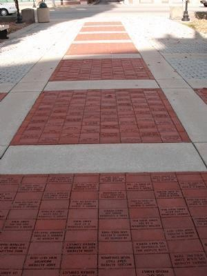 Walk at the Memorial - - To Jefferson Street image. Click for full size.
