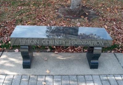 Tipton County Foundation (Memorial Bench) image. Click for full size.