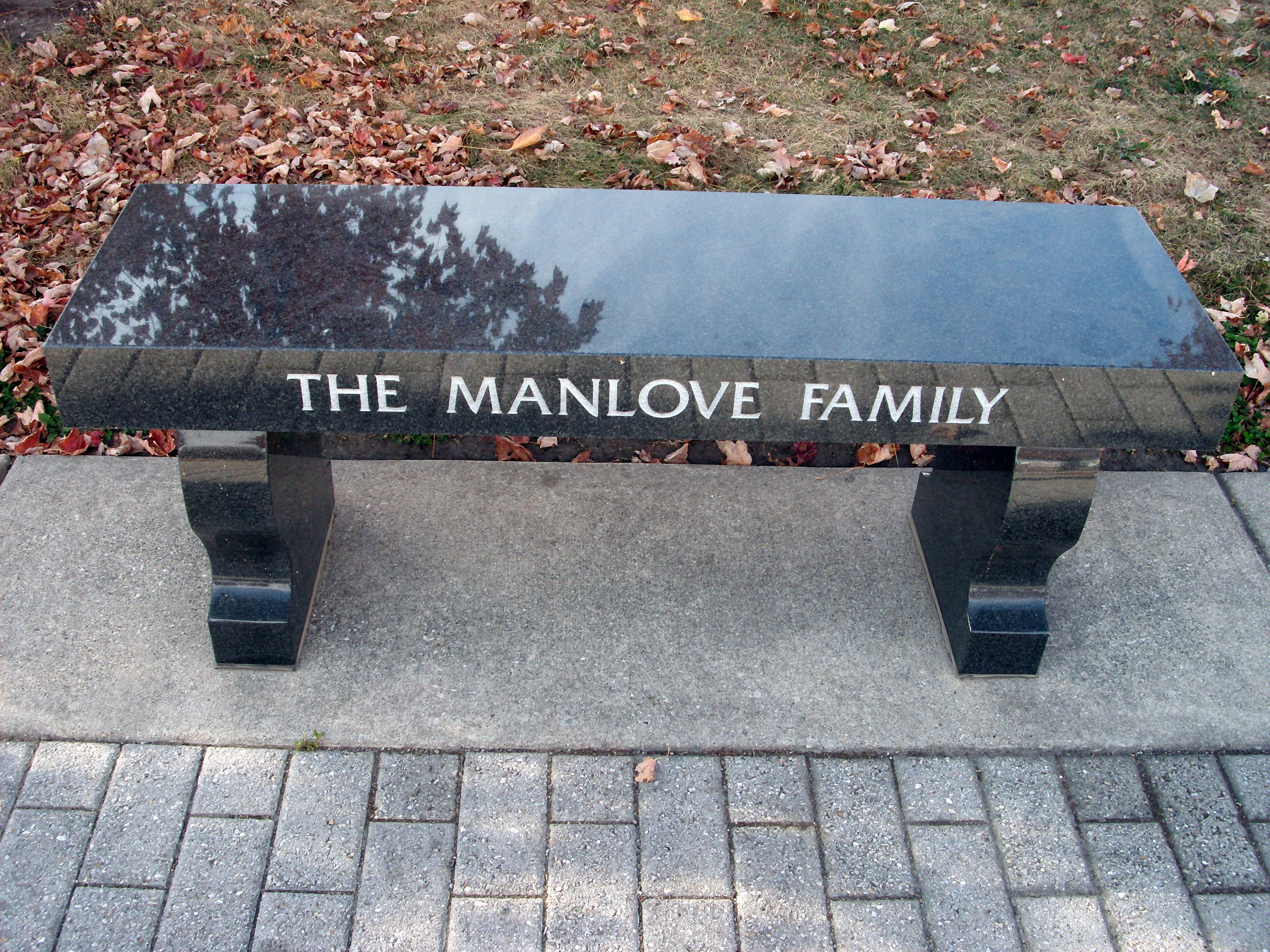 The Manlove Family (Memorial Bench)