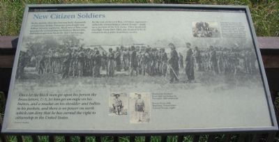 New Citizen Soldiers Marker image. Click for full size.