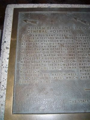 William Beaumont General Hospital - <i>Left</i> image. Click for full size.
