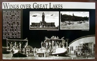 Wings over Great Lakes Marker image. Click for full size.
