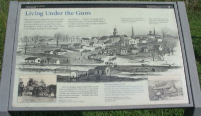 Living Under the Guns Marker image. Click for full size.