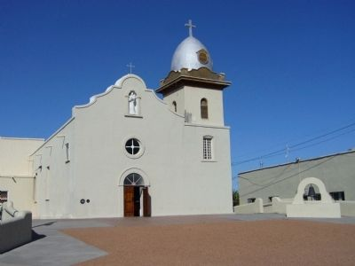 Ysleta Mission image. Click for full size.