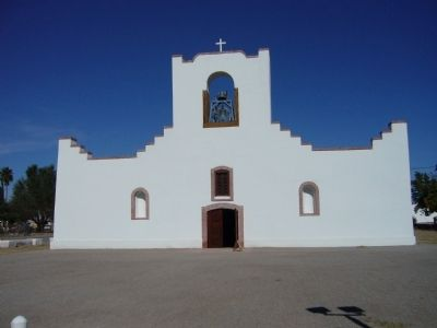 Socorro Mission image. Click for full size.