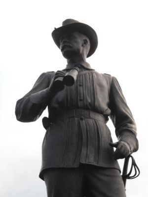 Closeup of Gen. John Buford Statue image. Click for full size.