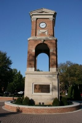 Autherine Lucy Clock Tower - South Face image. Click for full size.