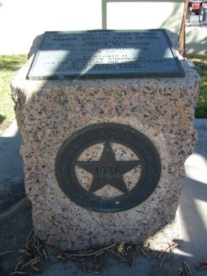 First Mission and Pueblo in Texas Marker image. Click for full size.