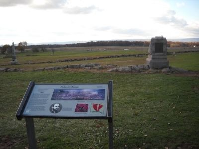 Pickett's Charge Marker image. Click for full size.