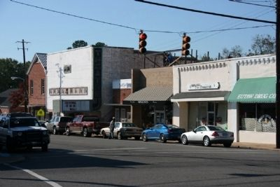 Eutaw's Downtown District, Prairie Avenue image. Click for full size.