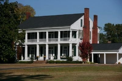 One Of The Many Old Grand Mansions That Still Exist In Eutaw, Alabama image. Click for full size.