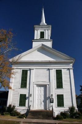 Eutaw First Presbyterian Church, Built In 1851 and Founded In 1824. image. Click for full size.