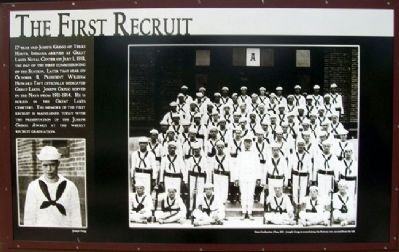 The First Recruit Marker image. Click for full size.