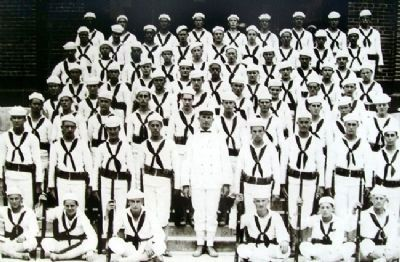 The First Graduation Class Photo on Marker image. Click for full size.