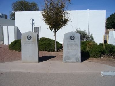 Salt War Marker (on left) image. Click for full size.