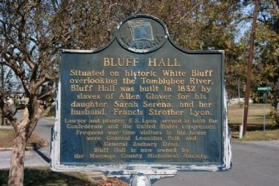 Bluff Hall Marker image. Click for full size.