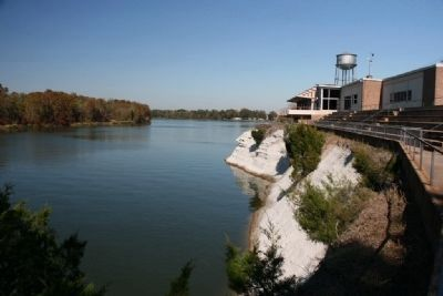 White Bluff And The Demopolis Civic Center Overlooking The Tombigbee River. image. Click for full size.