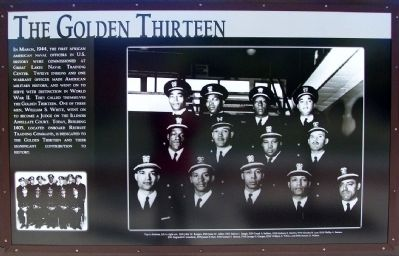 The Golden Thirteen Marker image. Click for full size.