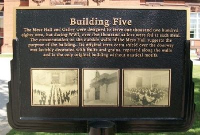 Building Five Marker image. Click for full size.