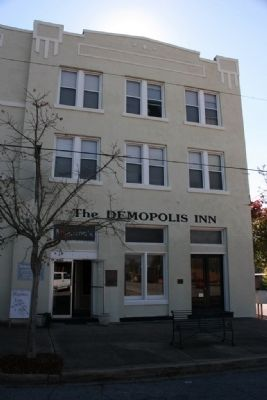 The Demopolis Inn, Birthplace of The Alabama Cattlemen's Association image. Click for full size.