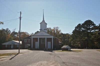 Saw Mill Baptist Church image. Click for full size.
