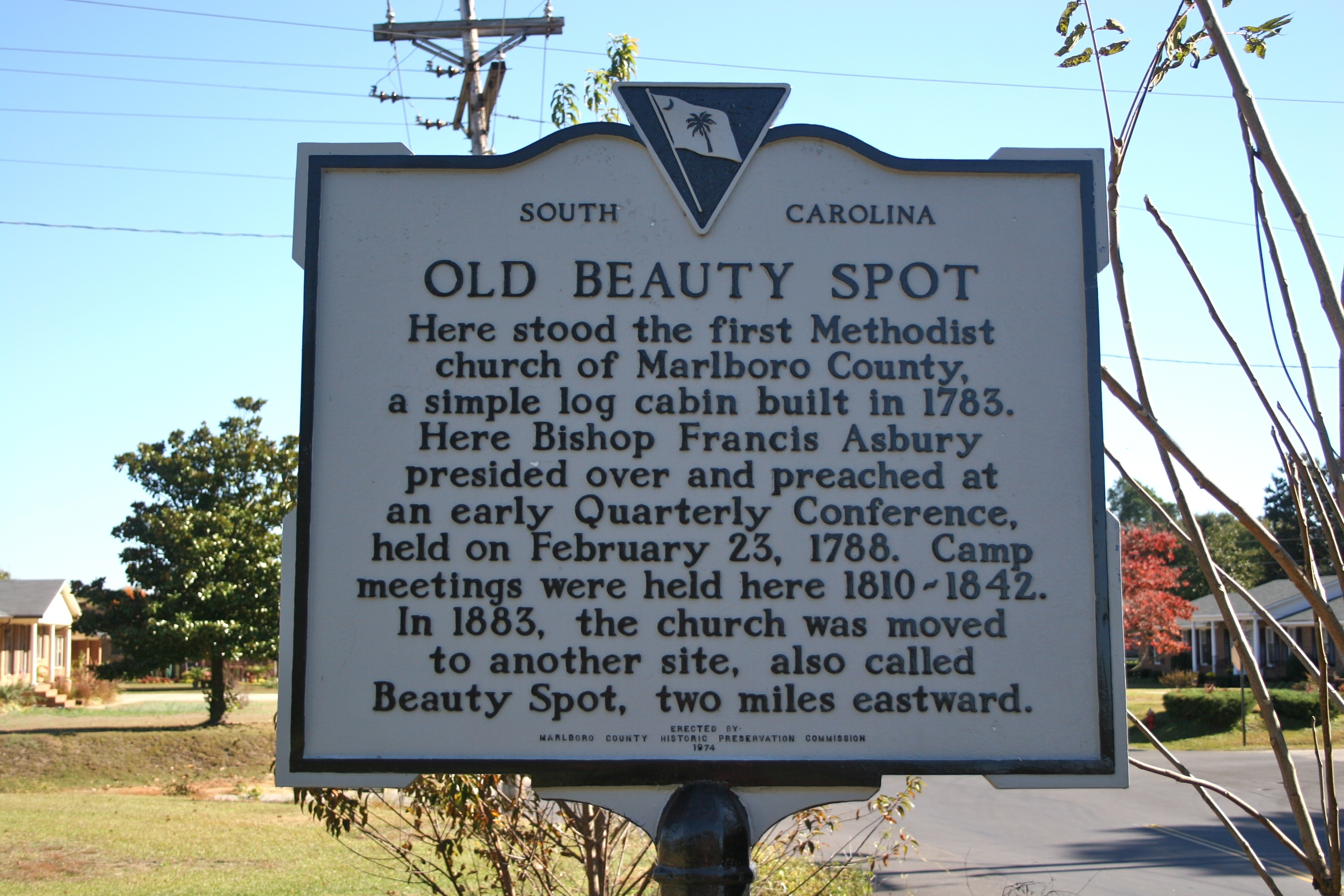 Old Beauty Spot Marker